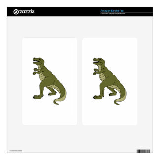 T REX DINOSAUR KINDLE FIRE DECAL
