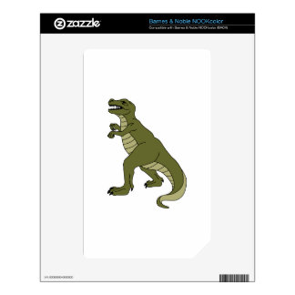 T REX DINOSAUR DECAL FOR NOOK COLOR