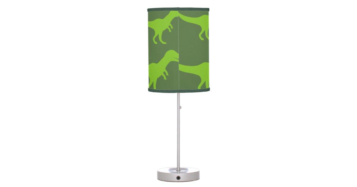T Rex Dinosaur Table Lamp Decor For Boys Bedroom Zazzle