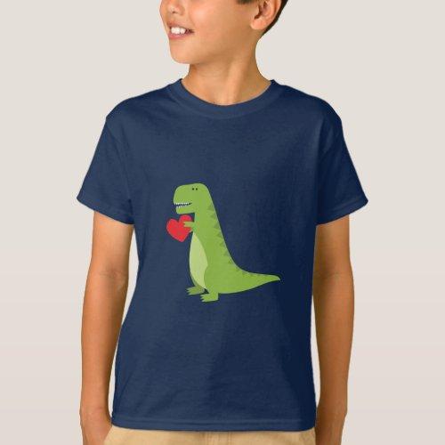 T_Rex Dinosaur Valentine Shirt