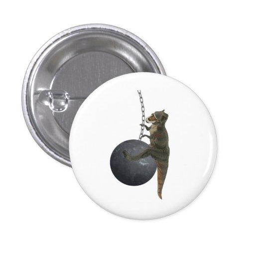 T-Rex Dinosaur Wrecking Ball Pins