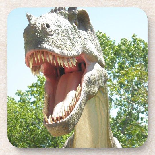 T-Rex Dinosaurs Drink Coaster