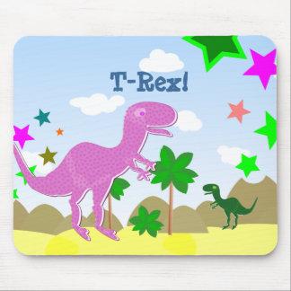 T-Rex Dinosaurs Kids Mousepad