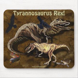 T-Rex Dinosaurs & Wildlife Mousepad Mouse Pad