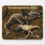 T-Rex Dinosaurs & Wildlife Mousepad