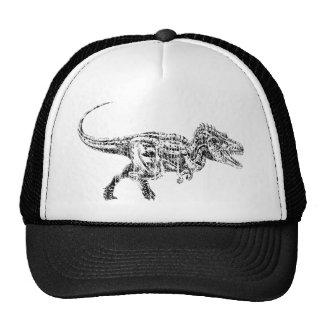 T Rex Distressed Hats