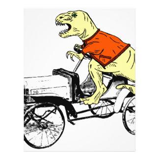 T-Rex Driver Letterhead