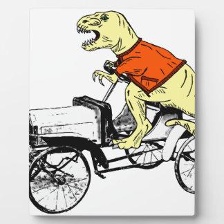 T-Rex Driver Plaque