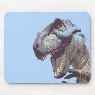T-Rex embroma el dinosaurio Tapetes De Ratón