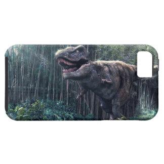 T-Rex en caza iPhone 5 Fundas
