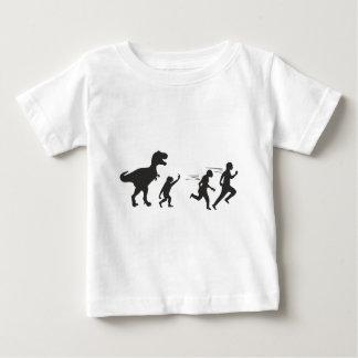 T Rex Evolution Baby T-Shirt