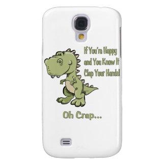 T-Rex feliz Funda Para Galaxy S4