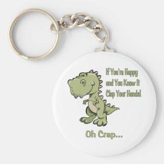 T-Rex feliz Llavero