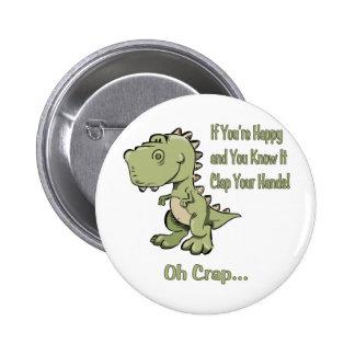 T-Rex feliz Pin