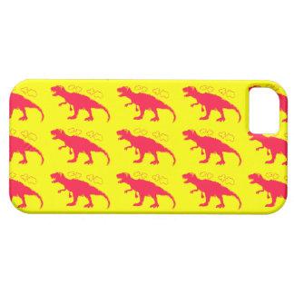 T-Rex #FF0033 sólido iPhone 5 Protector