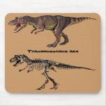 T-rex Flesh-n-Bone,Mousepad Mouse Pad