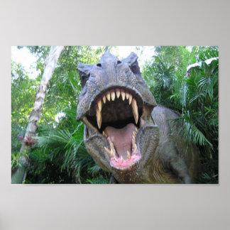 "T-Rex ""GAWR"" Poster Print"