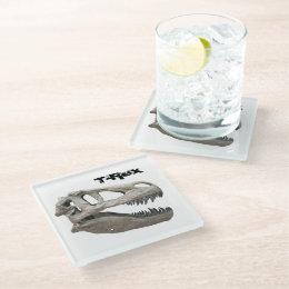 T-Rex : Glass Coaster