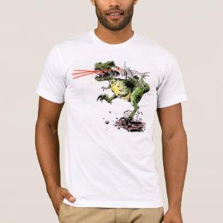 T-Rex/Great White Lazer Beam Tag Team T-Shirt