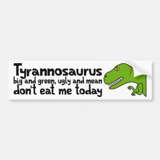 T-Rex Haiku Bumper Sticker