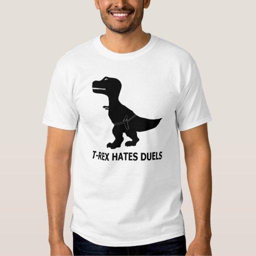 T-Rex Hates Duels Light T-Shirt