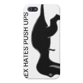 T-rex Hates Push Ups iPhone 4 Case