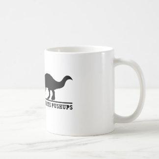 T-Rex Hates Pushups Coffee Mug