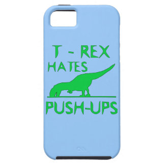 T REX HATES PUSHUPS Funny Dino Design iPhone SE/5/5s Case