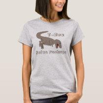 T-Rex Hates Pushups funny dinosaur Fitness T-Shirt