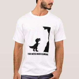 T-Rex Hates Rock Climbing T-Shirt