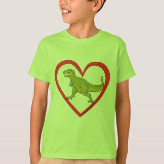 T Rex Heart T-Shirt