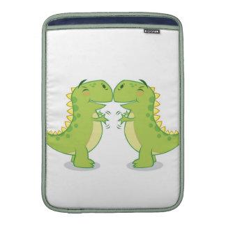 T-Rex Hug...So Close MacBook Sleeves