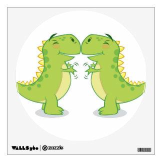 T-Rex Hug...So Close Room Sticker