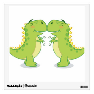 T-Rex Hug...So Close Wall Decal