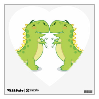 T-Rex Hug...So Close Wall Sticker