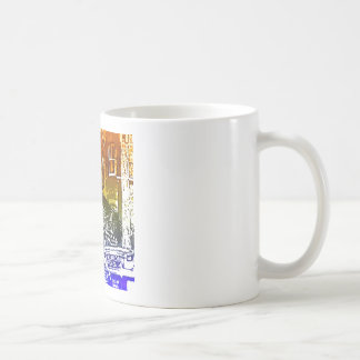 T-Rex in a tophat Coffee Mug