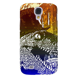 T-Rex in a tophat Galaxy S4 Cases