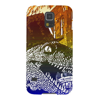 T-Rex in a tophat Galaxy S5 Cases