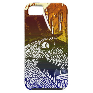 T-Rex in a tophat iPhone 5 Cases