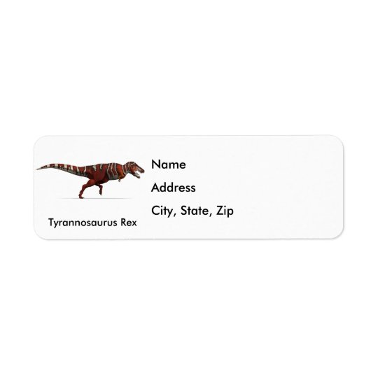 T-Rex in Red, White and Black Label