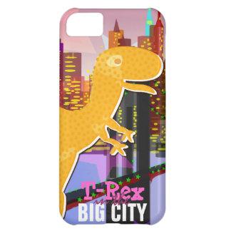 T-Rex in the Big City iPhone 5C Case