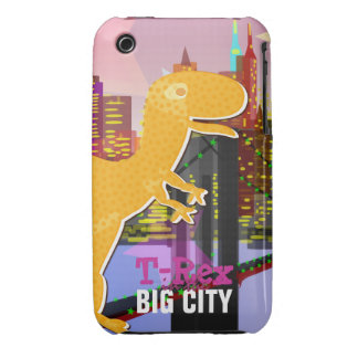 T-Rex in the Big City iPhone 3G/ 3GS Case iPhone 3 Cover