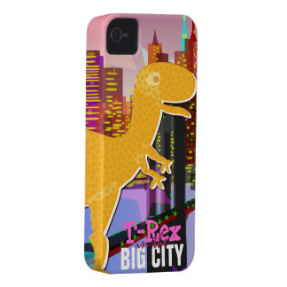 T-Rex in the Big City iPhone 4 4S Case iPhone 4 Case-Mate Cases