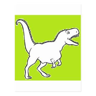 T-Rex-ing Postcard