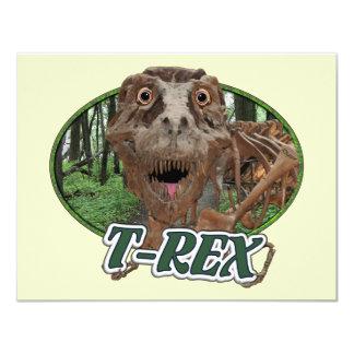 T-Rex Invitación 10,8 X 13,9 Cm