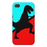 ¡T-Rex! iPhone 4 Protectores
