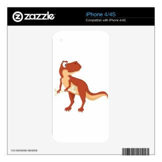 T-Rex iPhone 4 Skins