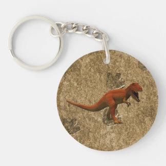 T Rex Acrylic Keychains