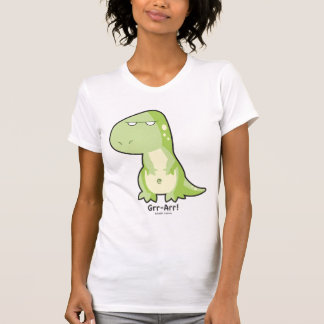 T-Rex Ladies AA Cap Sleeve Raglan T-Shirt