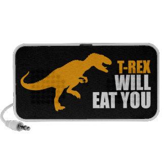 T-rex le comerá mp3 altavoz